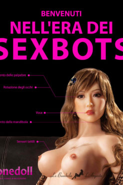 Z-Onedoll 'Sexbot' Bambola Sessuale Robotizzata in Silicone